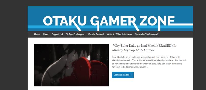 otaku gamer zone