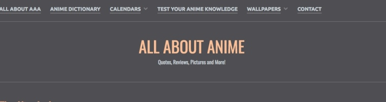 all about anime